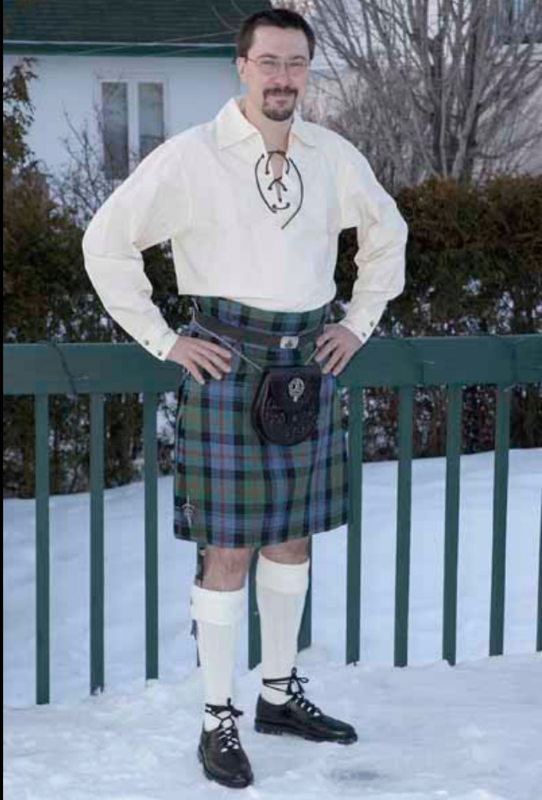The Scottish Kilt: A cut above the rest.. and the knee!
